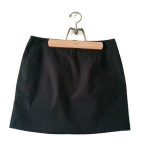 GAP Black Lined Skirt Stretch